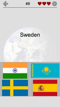 Flags of All Countries of the World: Guess-Quiz poster