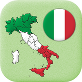 Italian Regions: Flags, Capitals and Maps of Italy icon