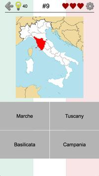 Italian Regions: Flags, Capitals and Maps of Italy apk screenshot