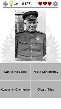 Russian and Soviet Leaders: History of Russia Quiz apk screenshot