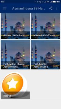 Asmaulhusna 99 Nama Nama Alah apk screenshot