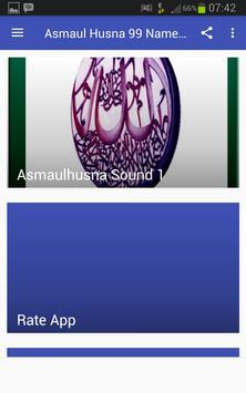 Asmaul Husna 99 Name Allah apk screenshot