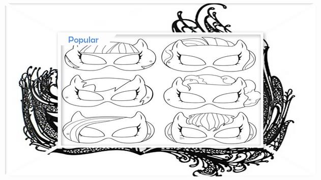 How to Draw Party Masks screenshot 1