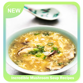 Incredible Mushroom Soup Recipes icon