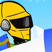 zameball robot flying icon