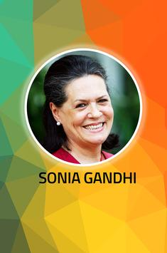 Sonia Gandhi poster