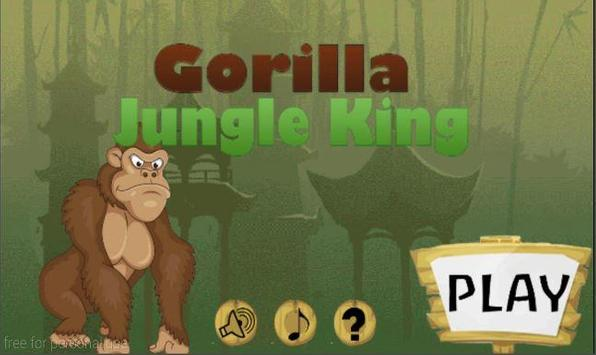 Gorilla Jungle King poster