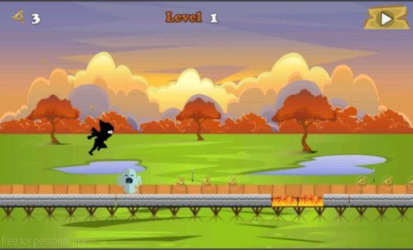 Ninja Run Adventure screenshot 1