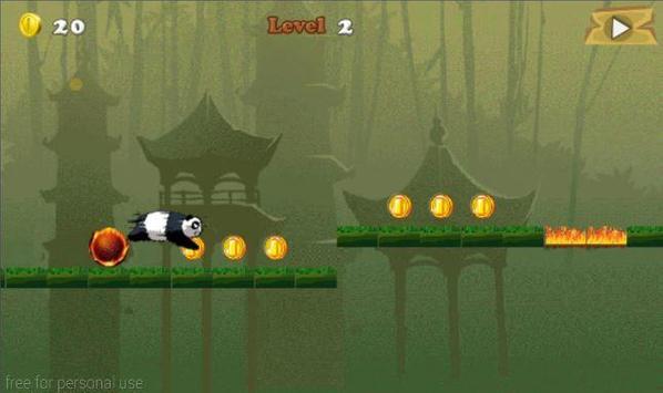 Panda Jungle Run screenshot 4