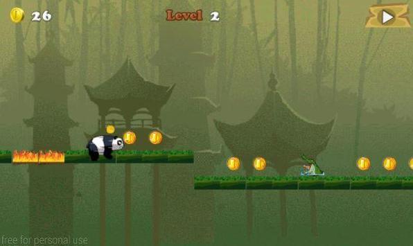 Panda Jungle Run screenshot 5