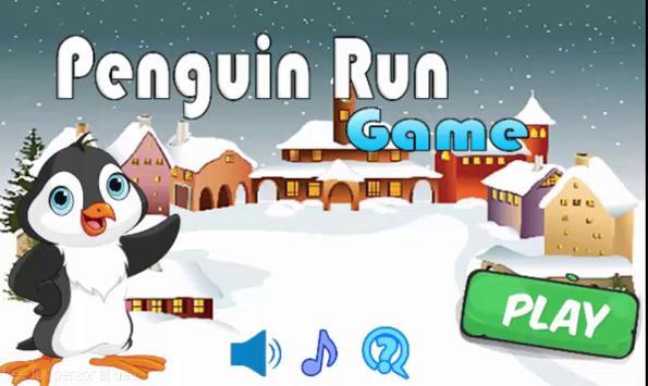 Penguin Run Game poster