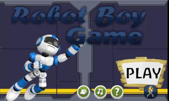 Robot Boy Game poster