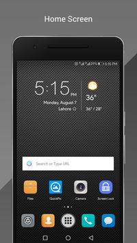 Carbon OS Theme for Huawei poster