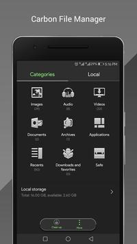 Carbon OS Theme EMUI apk screenshot