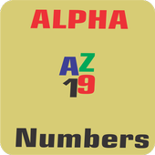 Alpha Numbers icon
