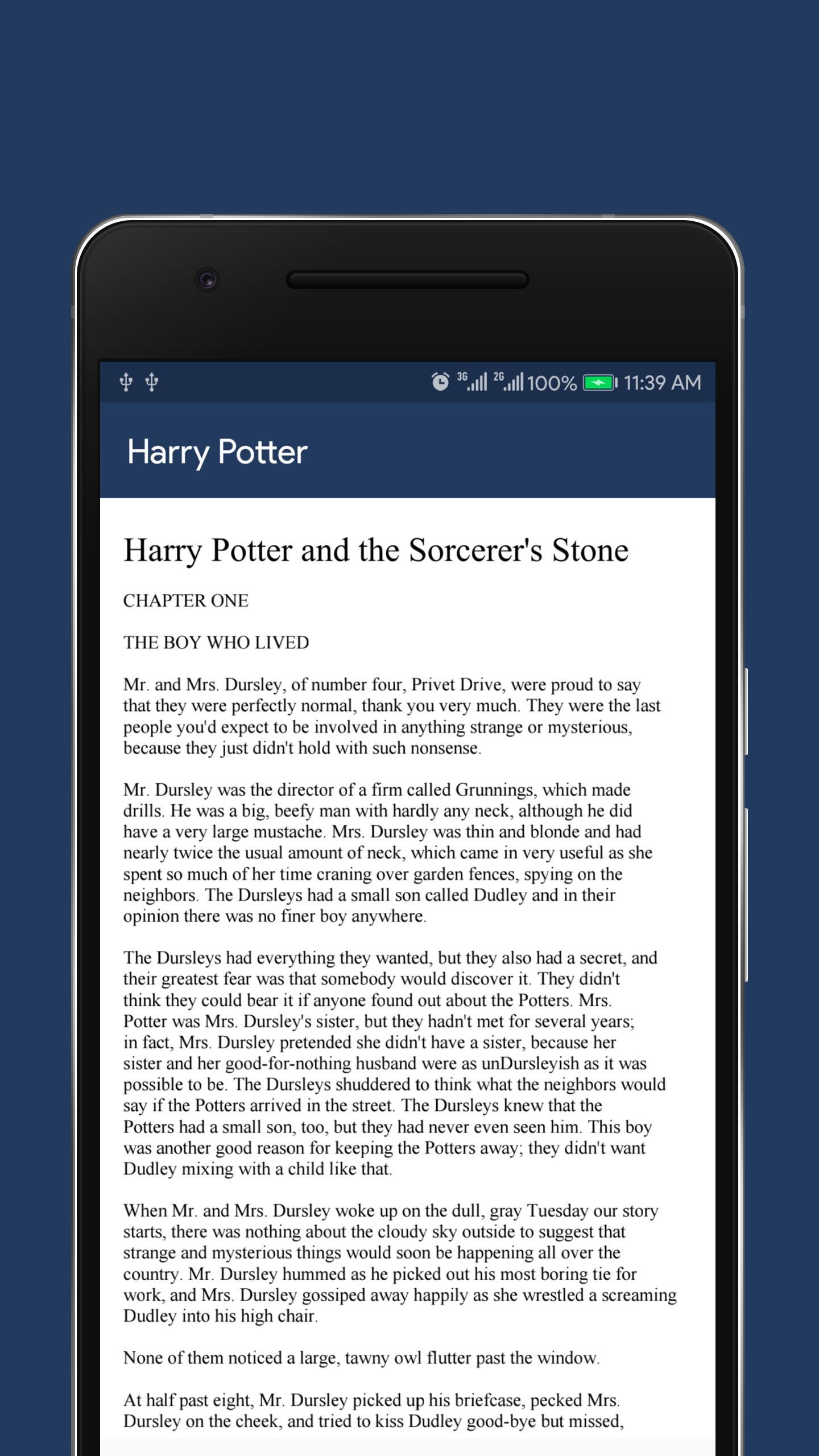 Full Novel H  Potter (Urdu+English+Hindi) for Android - APK Download