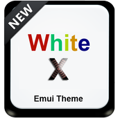 White X Theme For Huawei/Honor icon