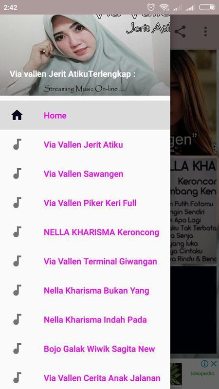 Download lagu via valen jerit atiku