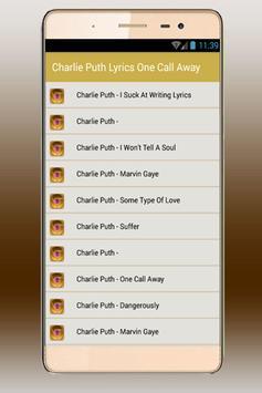 Charlie Puth - Charlie Puth apk screenshot