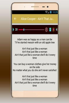 Alice Cooper Song-You and Me apk screenshot