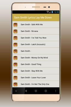Sam Smith All Lyrics screenshot 1