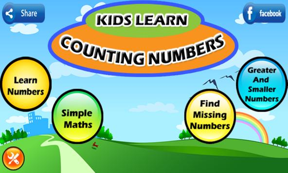 Kids Learn Counting Numbers poster