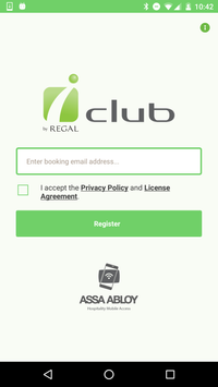 iclub Hotels Mobile Key poster