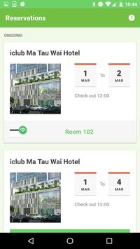iclub Hotels Mobile Key screenshot 1