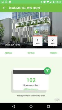 iclub Hotels Mobile Key screenshot 3