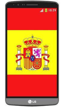 Spain flag live wallpaper screenshot 1