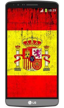 Spain flag live wallpaper screenshot 2