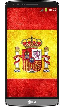 Spain flag live wallpaper screenshot 3