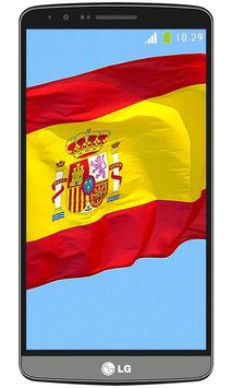 Spain flag live wallpaper screenshot 5