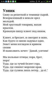 Стихи Пушкина poster