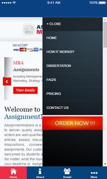 ASSIGNMENTMAKERS screenshot 1