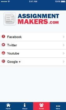 ASSIGNMENTMAKERS screenshot 4