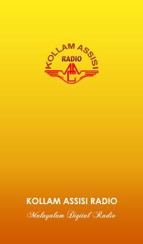 Kollam Assisi Radio poster
