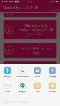 Musical.ly 2019 Guide screenshot 2