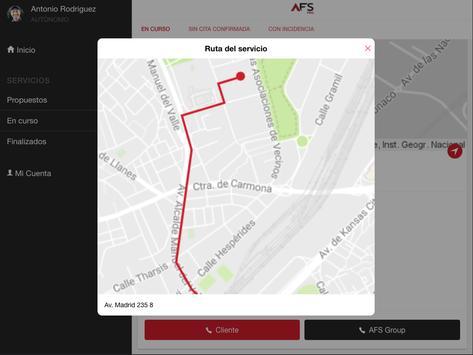 AFS PRO - Acceso para profesionales apk screenshot