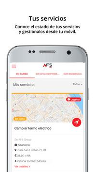 AFS PRO - Consigue reformas gratis apk screenshot