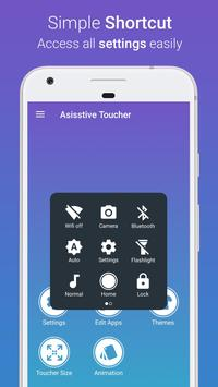 Assistive Toucher Elegant OS10 apk screenshot