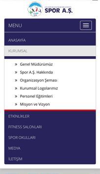 Spor A.Ş. Kayseri poster
