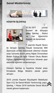 Spor A.Ş. Kayseri apk screenshot