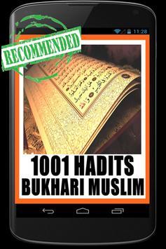 1001 Hadits Bukhari poster