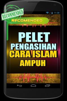 Pelet Cara Islam Ampuh poster