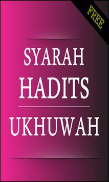 Syarah hadits Ukhuwah poster