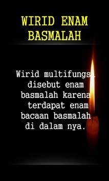 Wirid Enam Basmallah screenshot 1