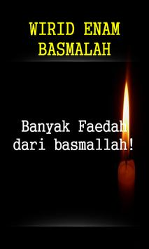 Wirid Enam Basmallah screenshot 2