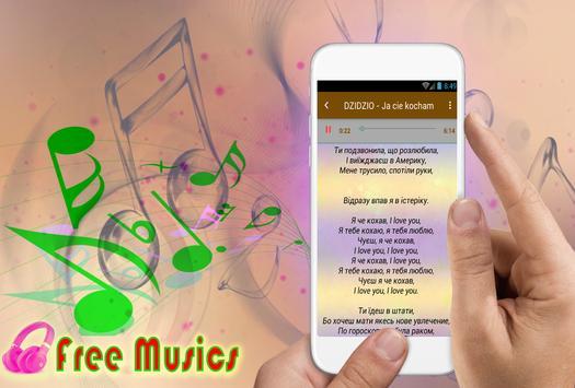 DZIDZIO коллекция песен и текстов песен poster