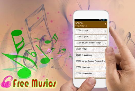DZIDZIO коллекция песен и текстов песен screenshot 2
